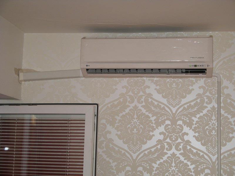 Kucna klimatizacija - unutrasnja jedinica - montaza 01